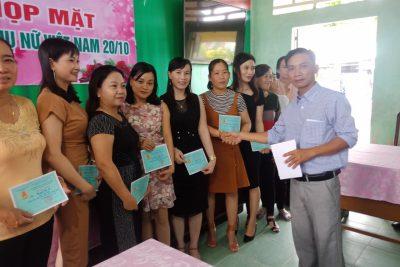 Trường Tiểu học Thị Trấn 2 tổ chức tọa đàm chào mừng ngày Phụ nữ Việt Nam ( 20/10/1930-20/10/2019)