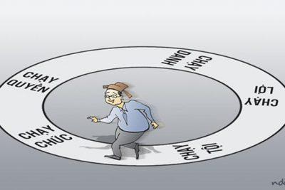 Công chức viên chức cần lưu ý 04 quy định về chạy chức chạy quyền